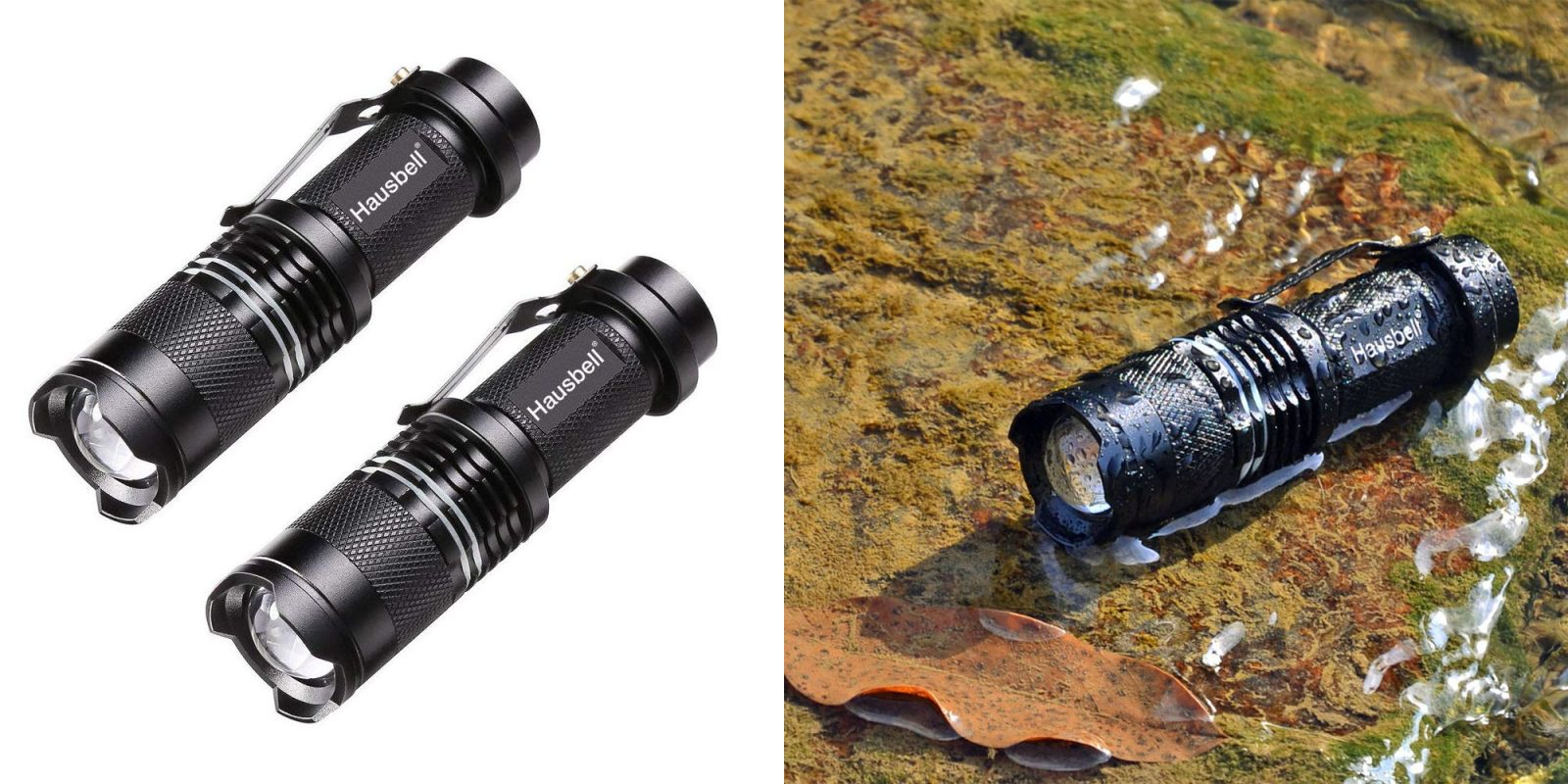 For around $2.50 Prime shipped each, you can carry these two LED flashlights