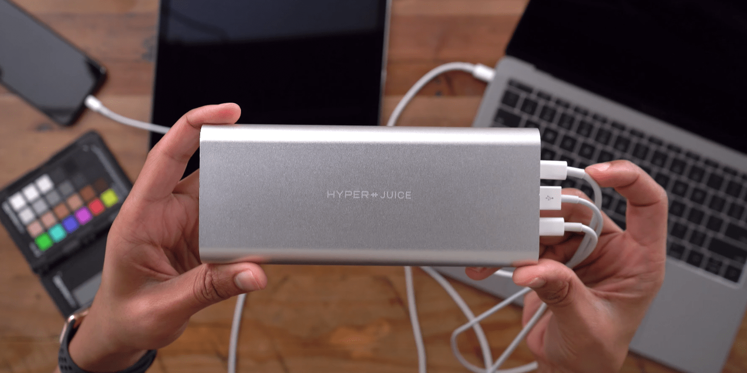 HyperJuice USB-C battery pack special preorder price $159 (Reg. $299)