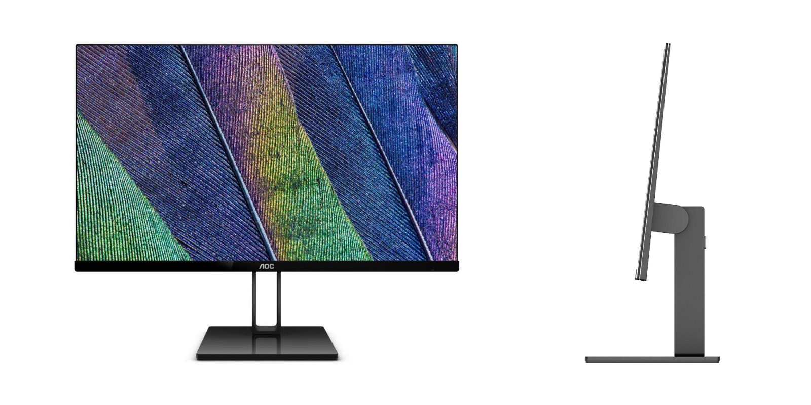 AOC's frameless, ultra-slim FHD Monitor drops to $140 at Amazon, more from $80