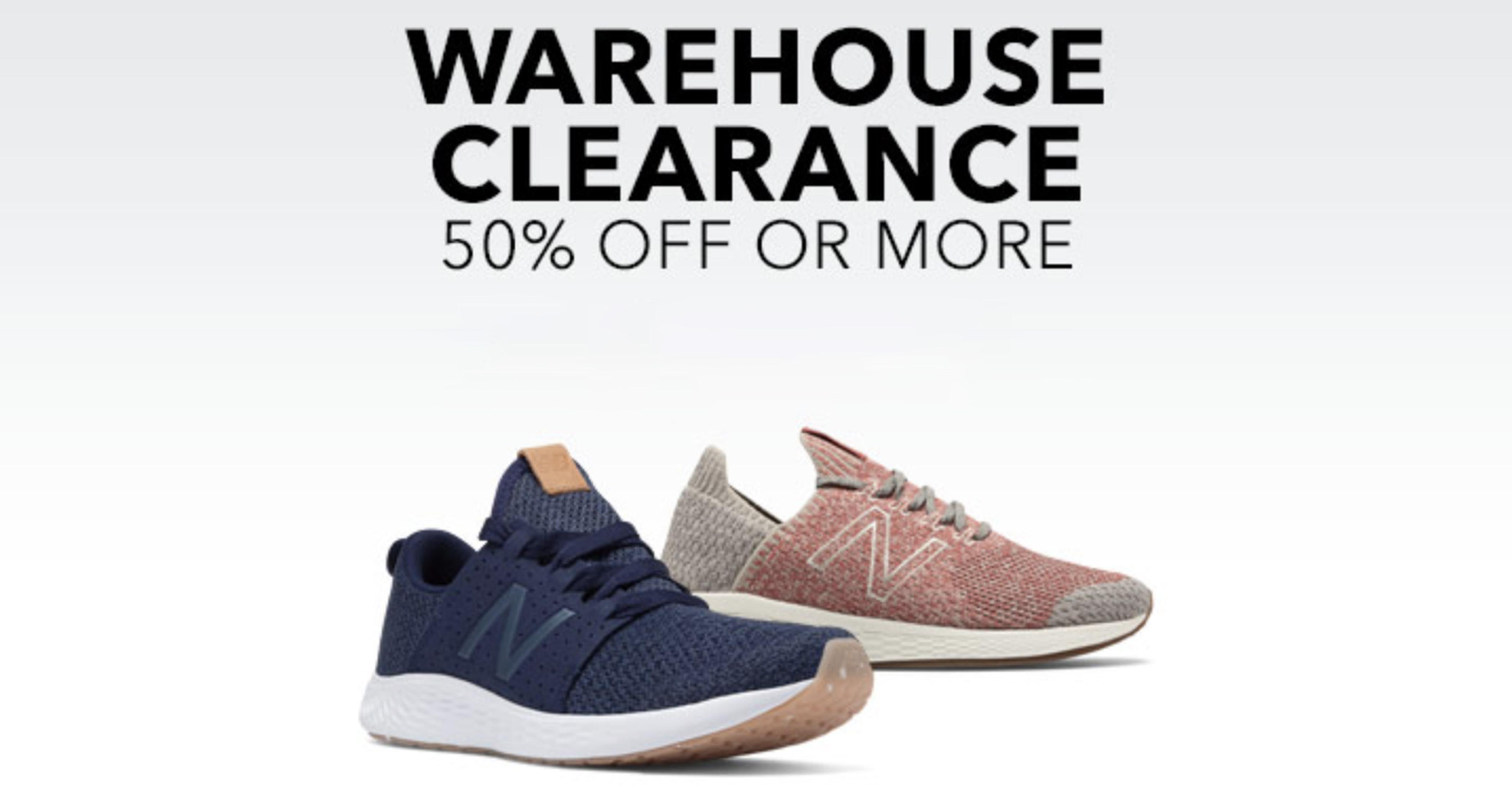 Joe's New Balance Warehouse Event