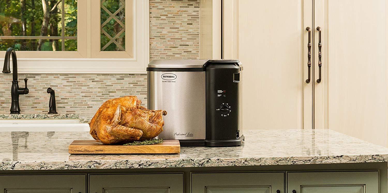 Make a deep fried turkey this year with a $25 Masterbuilt Fryer (Reg. $90)