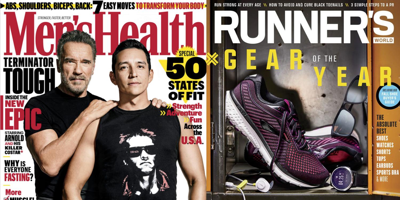 Magazine subs from $2.50/yr.: Men's Health, Runner's World, Golfweek, more