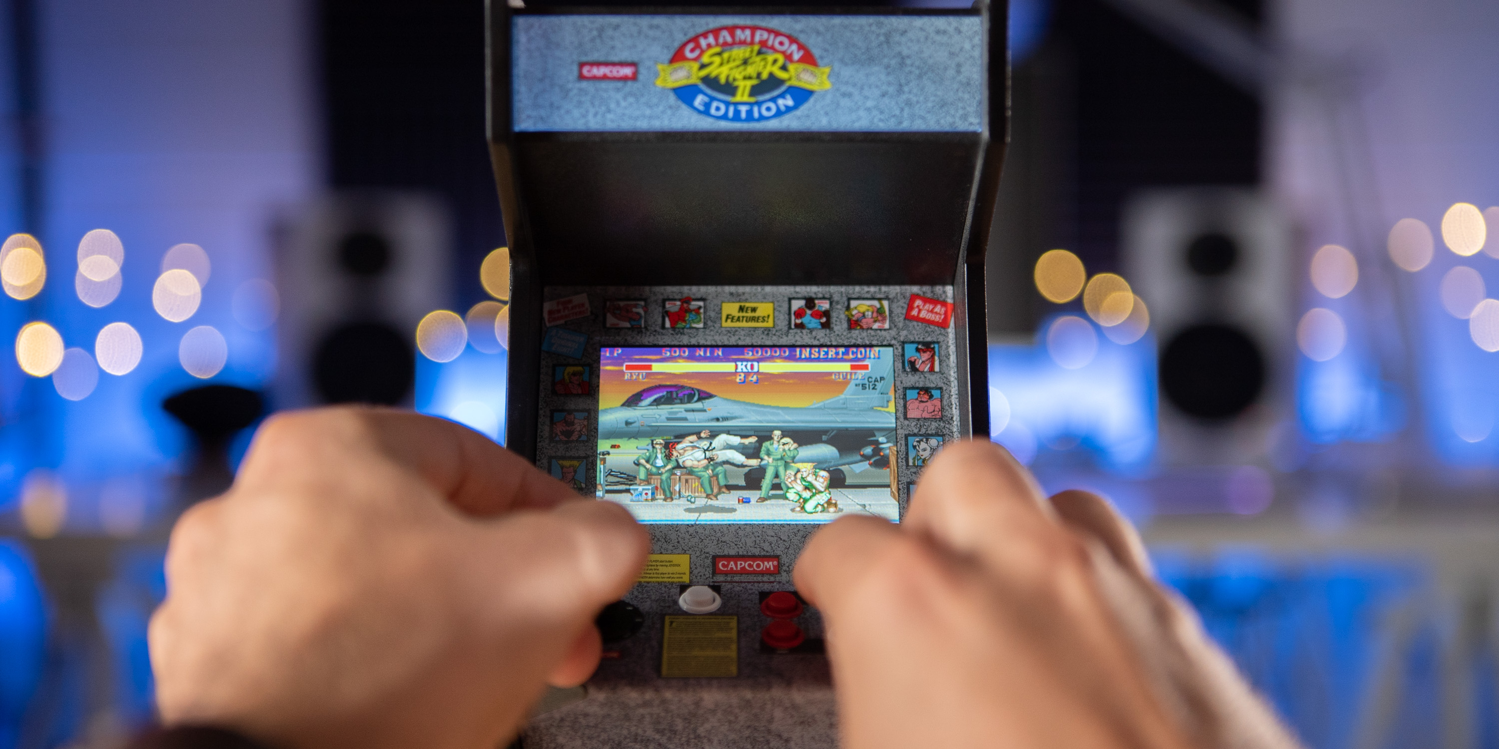 Playing the Street Fighter II RepliCade