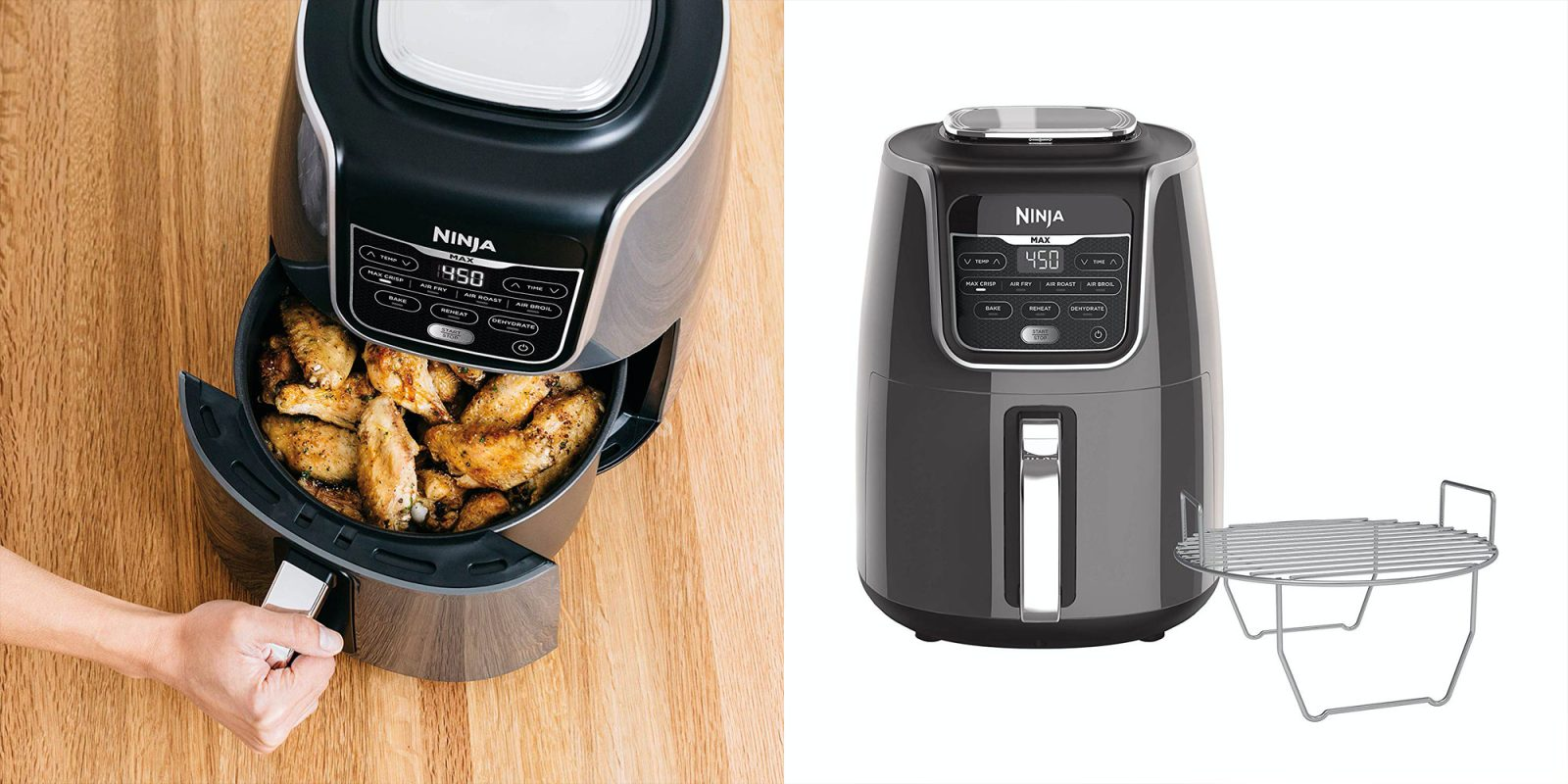 Ninja's 5.5-Qt. air fryer is ready to feed the family at $120 (Reg. $170)