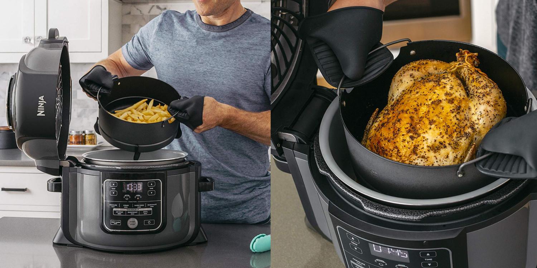 Ninja S 6 5 Qt Multi Cooker Air Fryer Hits Amazon Low At 120