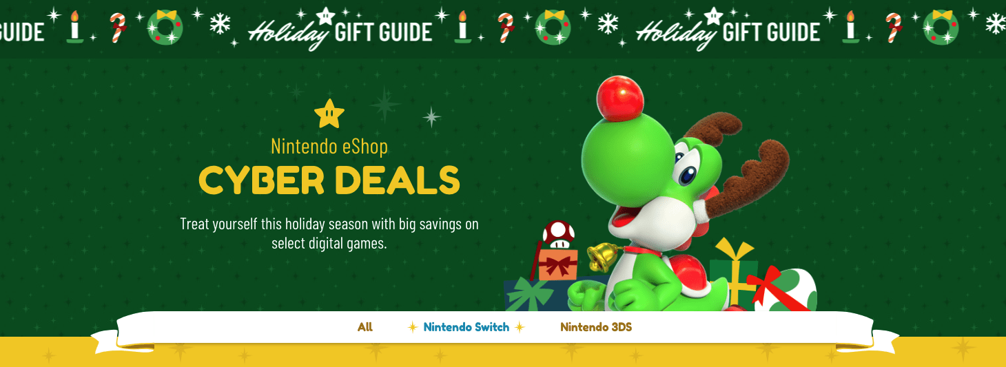 Nintendo Black Friday 2019 eShop deals inbound
