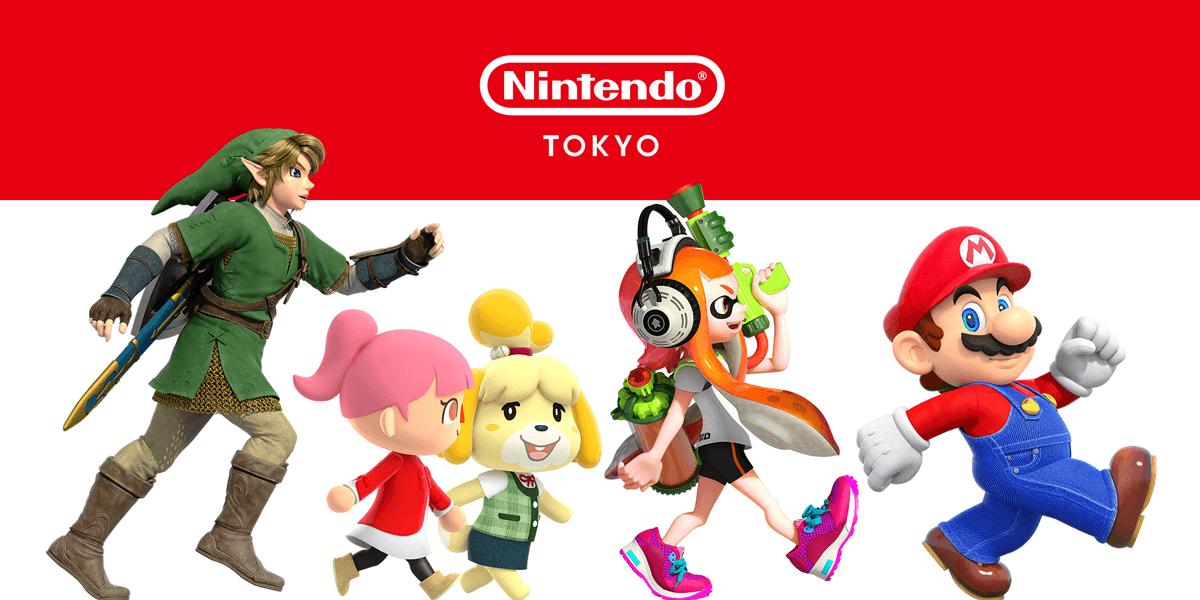 Nintendo Shop characters