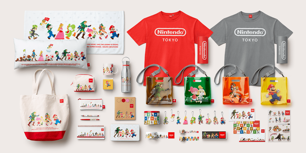 Nintendo Shop exclusive merchandise