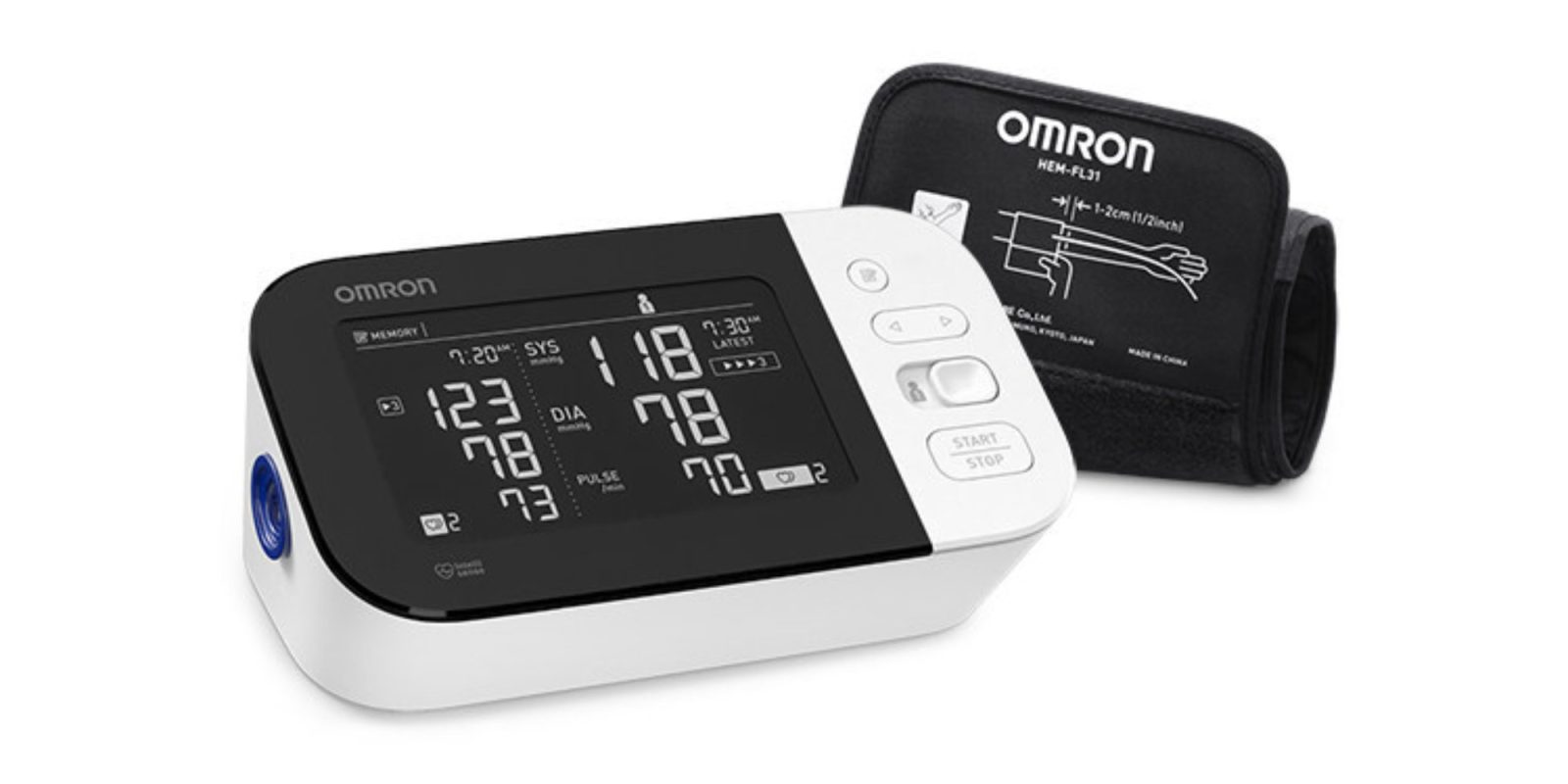 Omron refreshes its Apple Health-compatible blood pressure monitor lineup