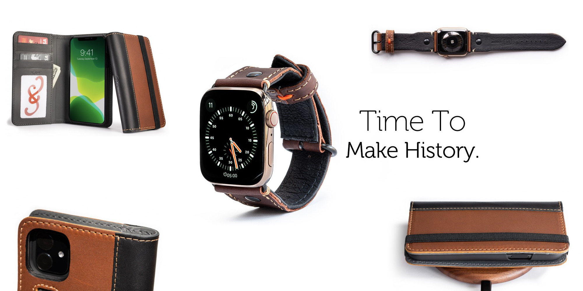 Pad & Quill's new Watch bands, iPhone cases, and iPad covers are 30% off today