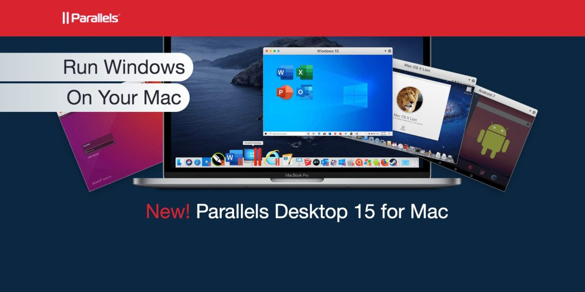 Running Windows on Mac with Parallels 15