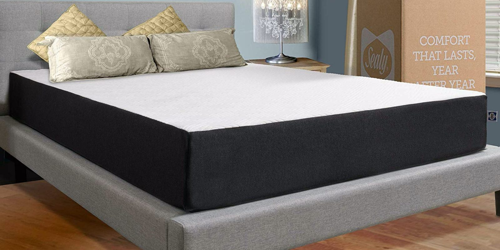 Get a good night's sleep on Sealy's bed in a box mattresses from $174