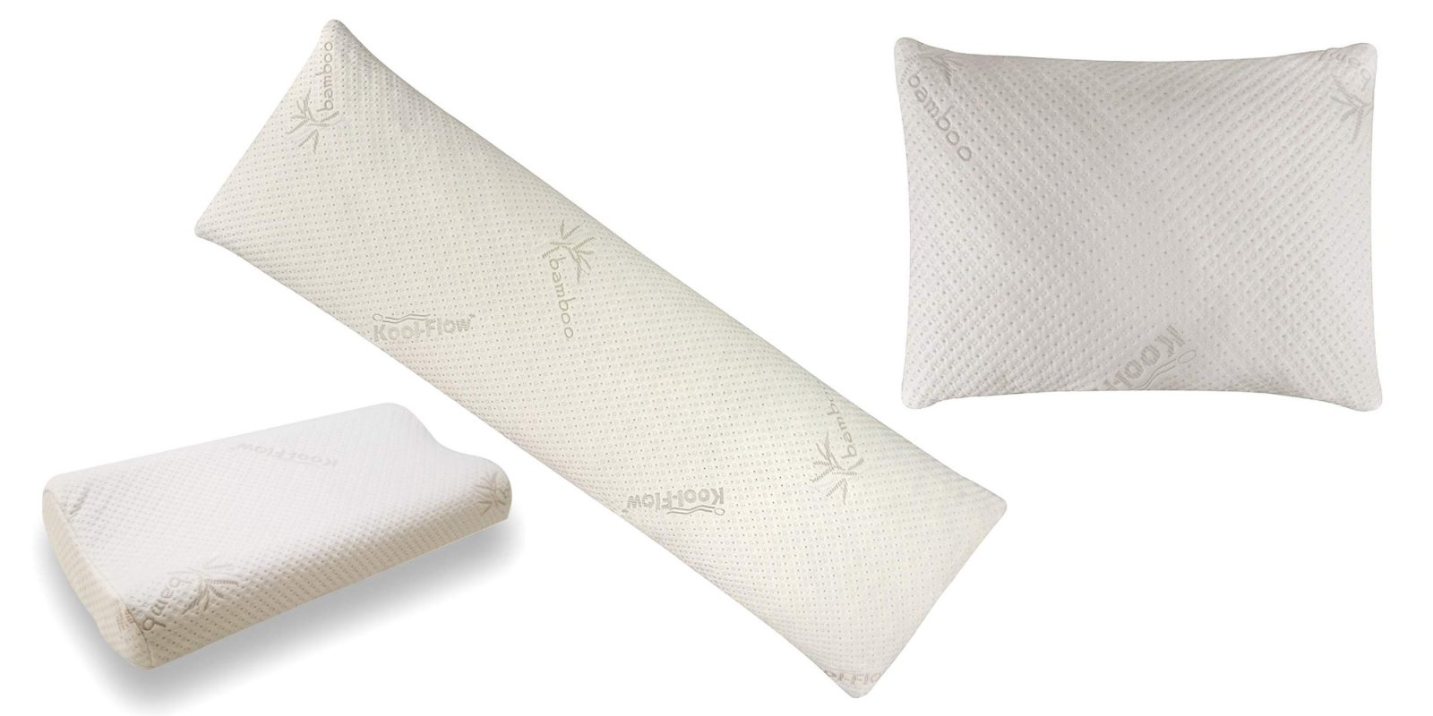 Bring home a new memory foam pillow at up to 40% with deals starting at $21
