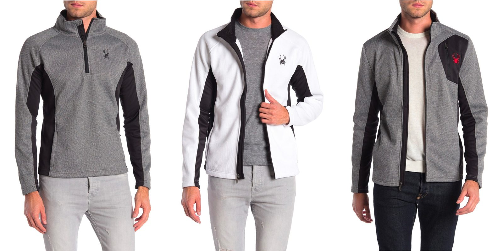 Spyder jackets, pullovers, and more under $50 at Hautelook