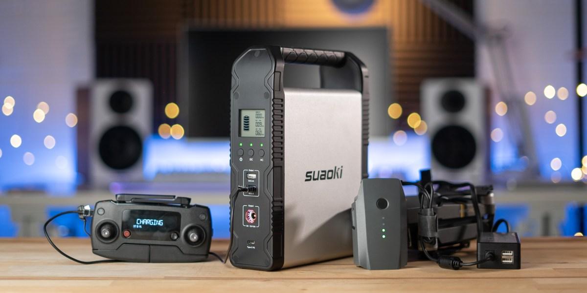 Charging Mavic Pro with Suaoki S200