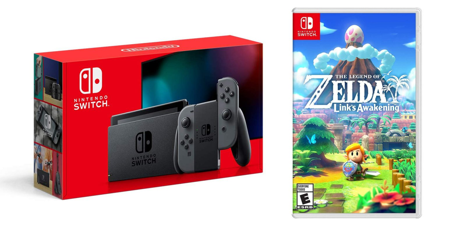 Nintendo's 2019 Switch + Link's Awakening for $306 shipped (Up to $360 value)