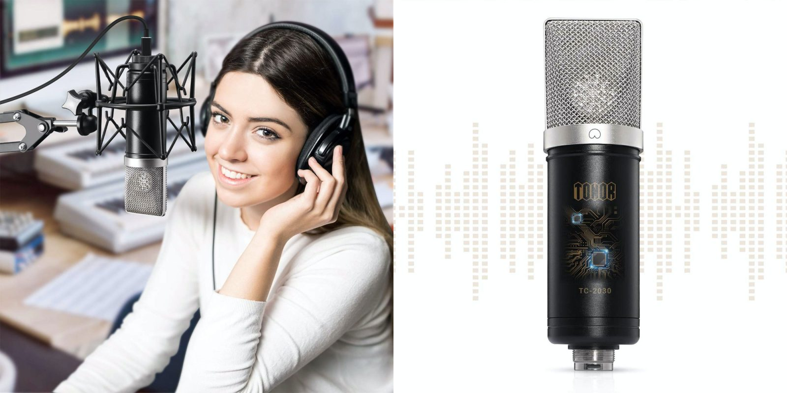 Upgrade your podcasting setup with this USB condenser mic kit: $69 (Reg. $115)