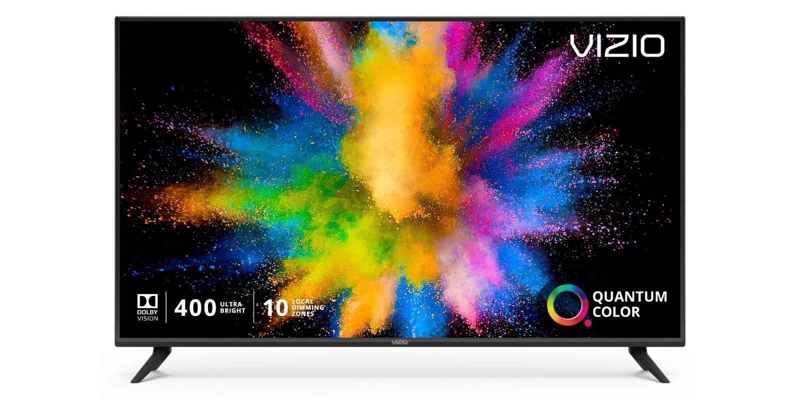 AirPlay, HomeKit, 4K, and HDR are a few highlights on VIZIO's $378 55-inch UHDTV