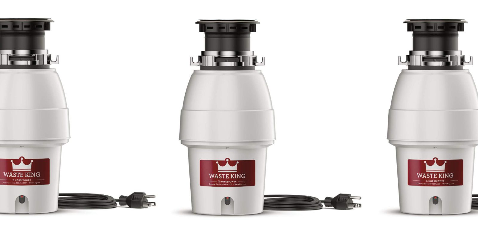 Outfit the kitchen with a Waste King Garbage Disposal from $50 today (30% off)