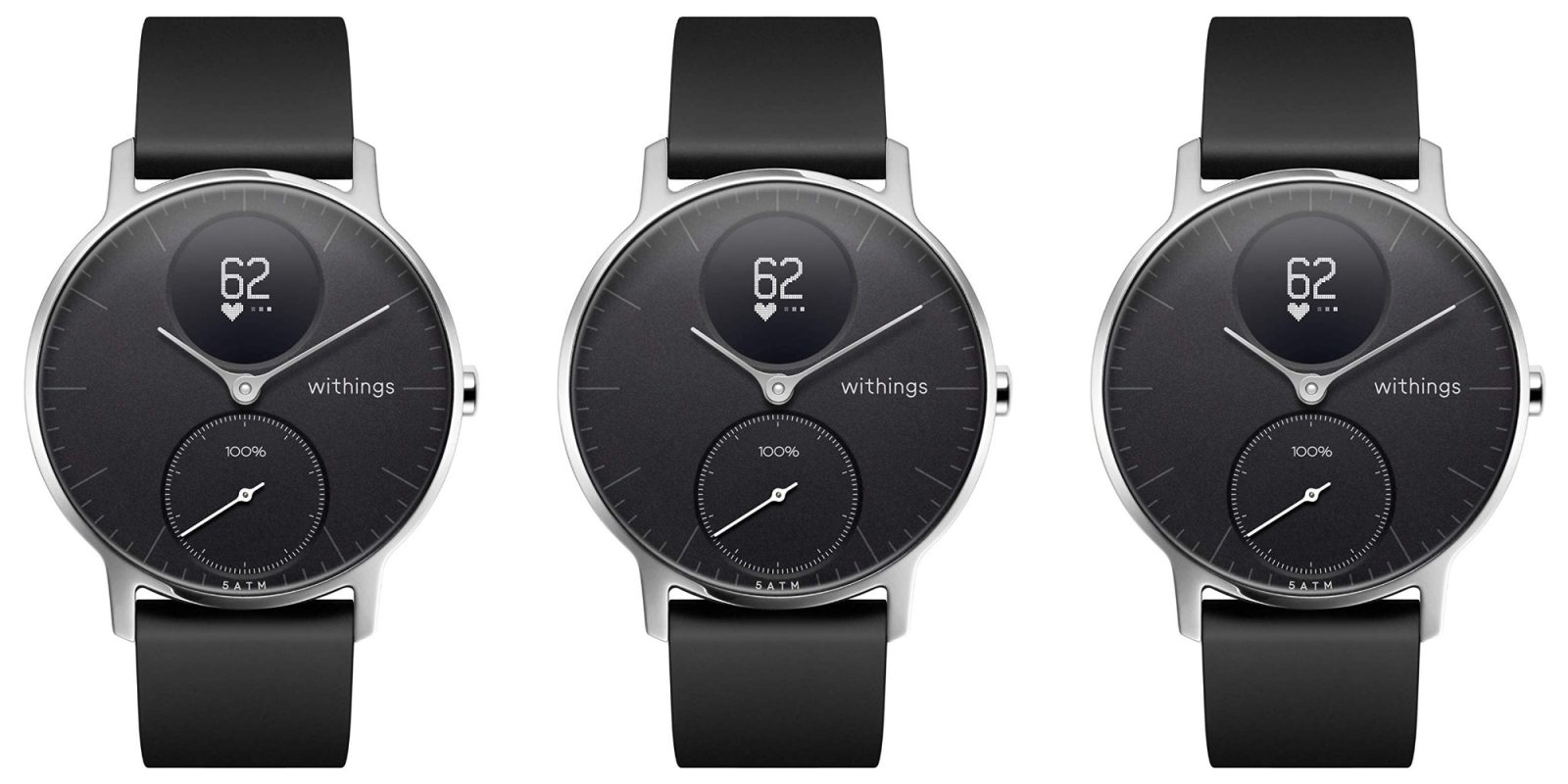 Withings Steel HR Hybrid Smartwatch has 25-day battery life at $144 (20% off)