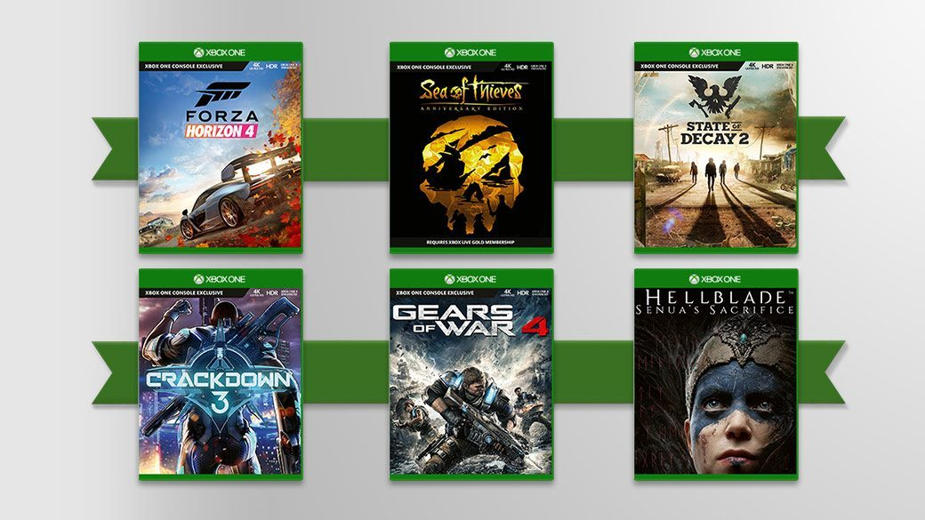Xbox Black Friday 2019 games