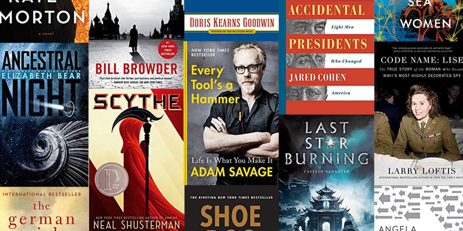 Dive into a new best-selling Kindle eBook at up to 80% off from $2 at Amazon