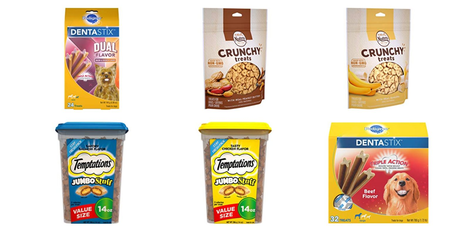 Dog treat deals start at $2.50 in today's Amazon Gold Box