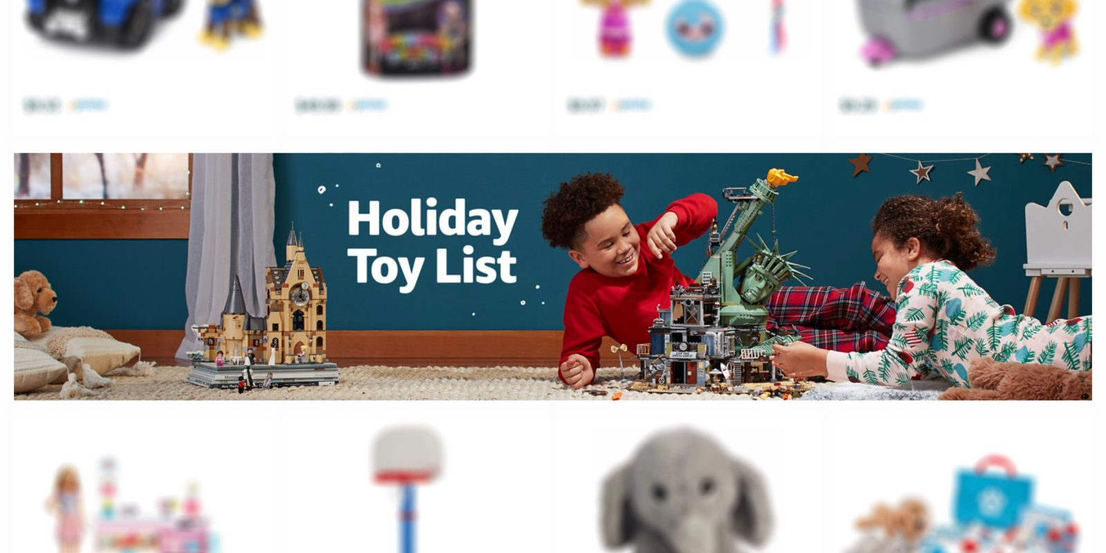 Amazon Toys List for 2019 details the top 100 gifts, more