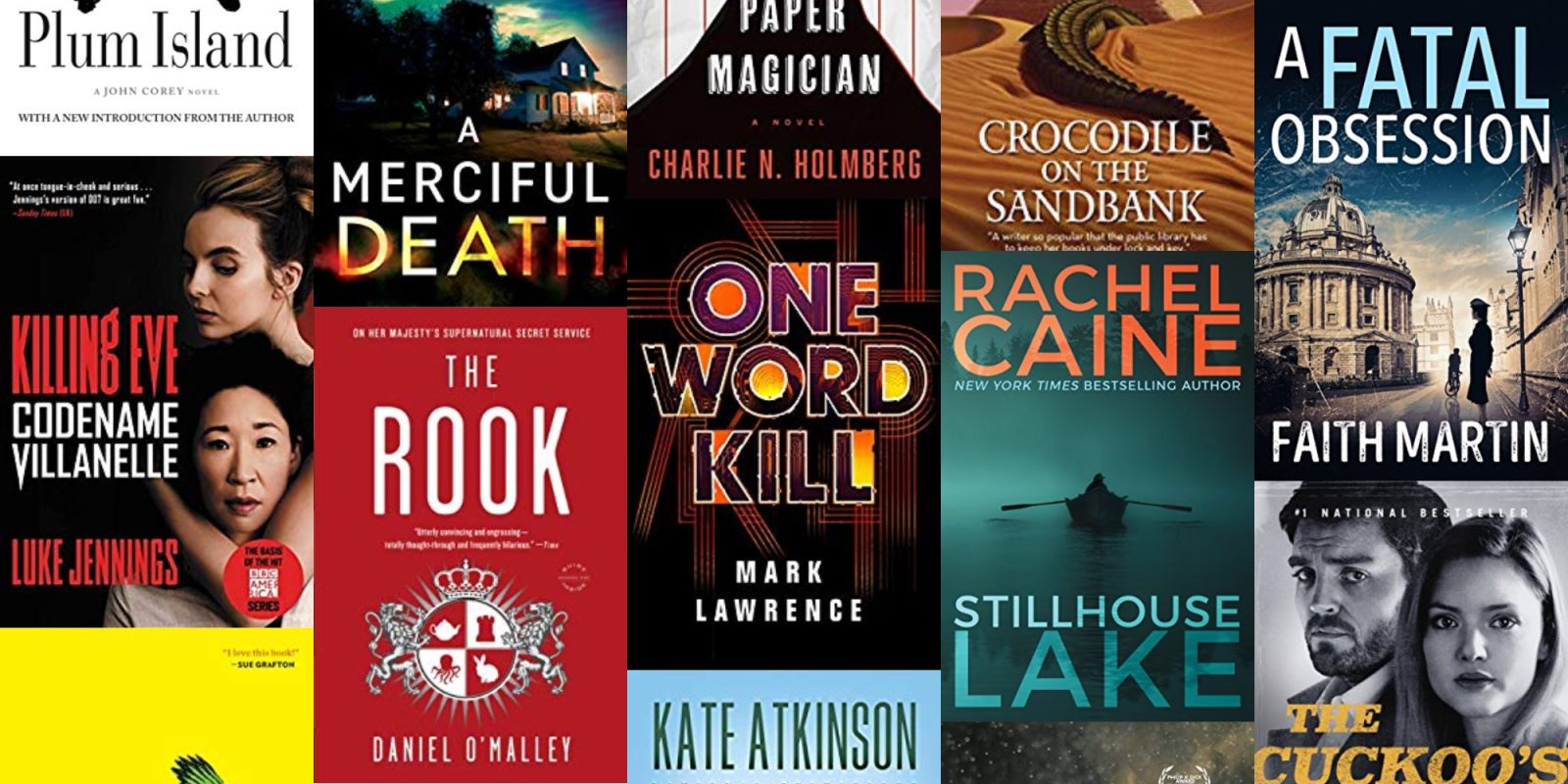 Get hooked on a new series with today's Amazon Kindle eBook sale from $1