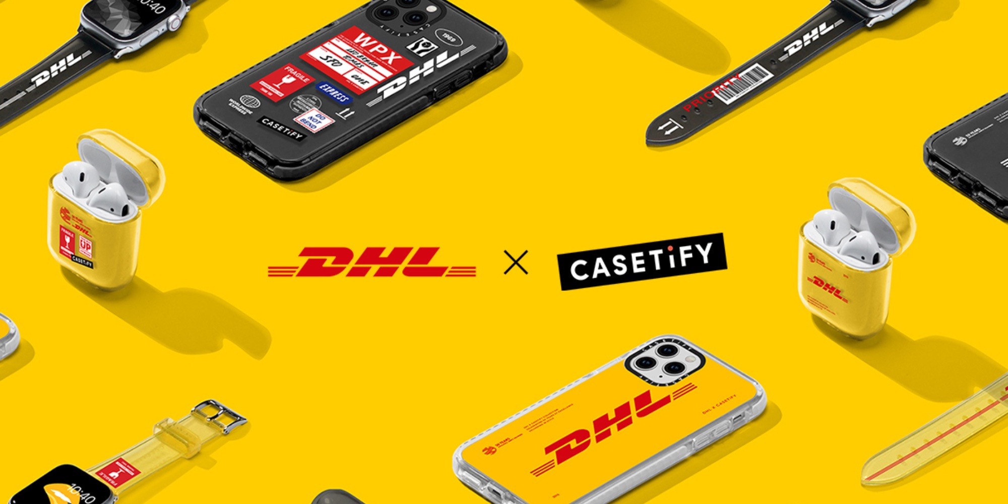 CASETiFY partners with DHL for a new line of iPhone accessories and more