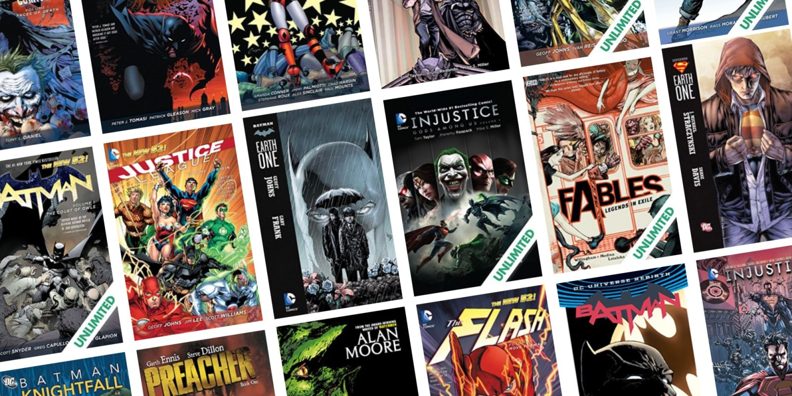 ComiXology's NYCC sales take up to 83% off graphic novels from DC and more
