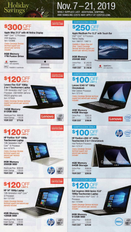 Costco Black Friday Ad 2019 reveals this year's early deals