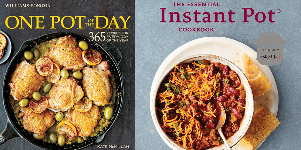 Get cooking this fall with the best instant pot and crock pot cookbooks