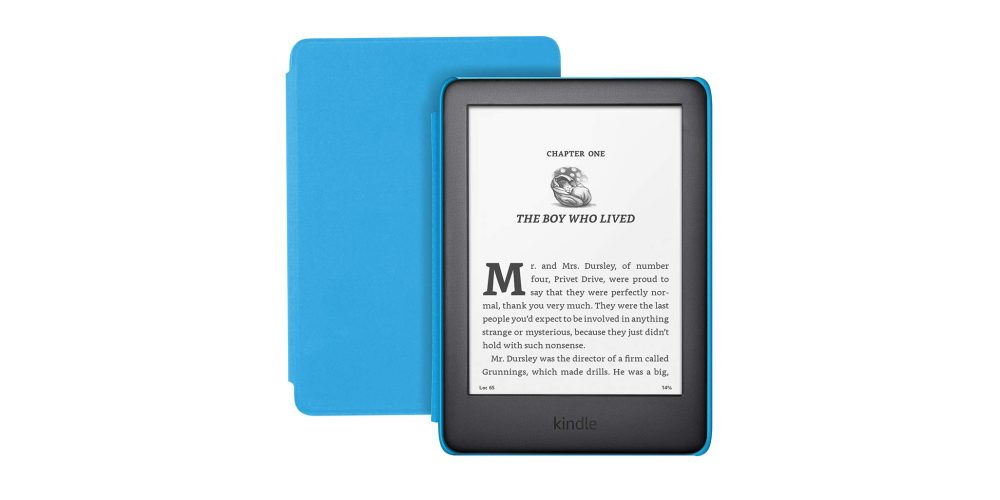 Fire HD 10 Kids in blue