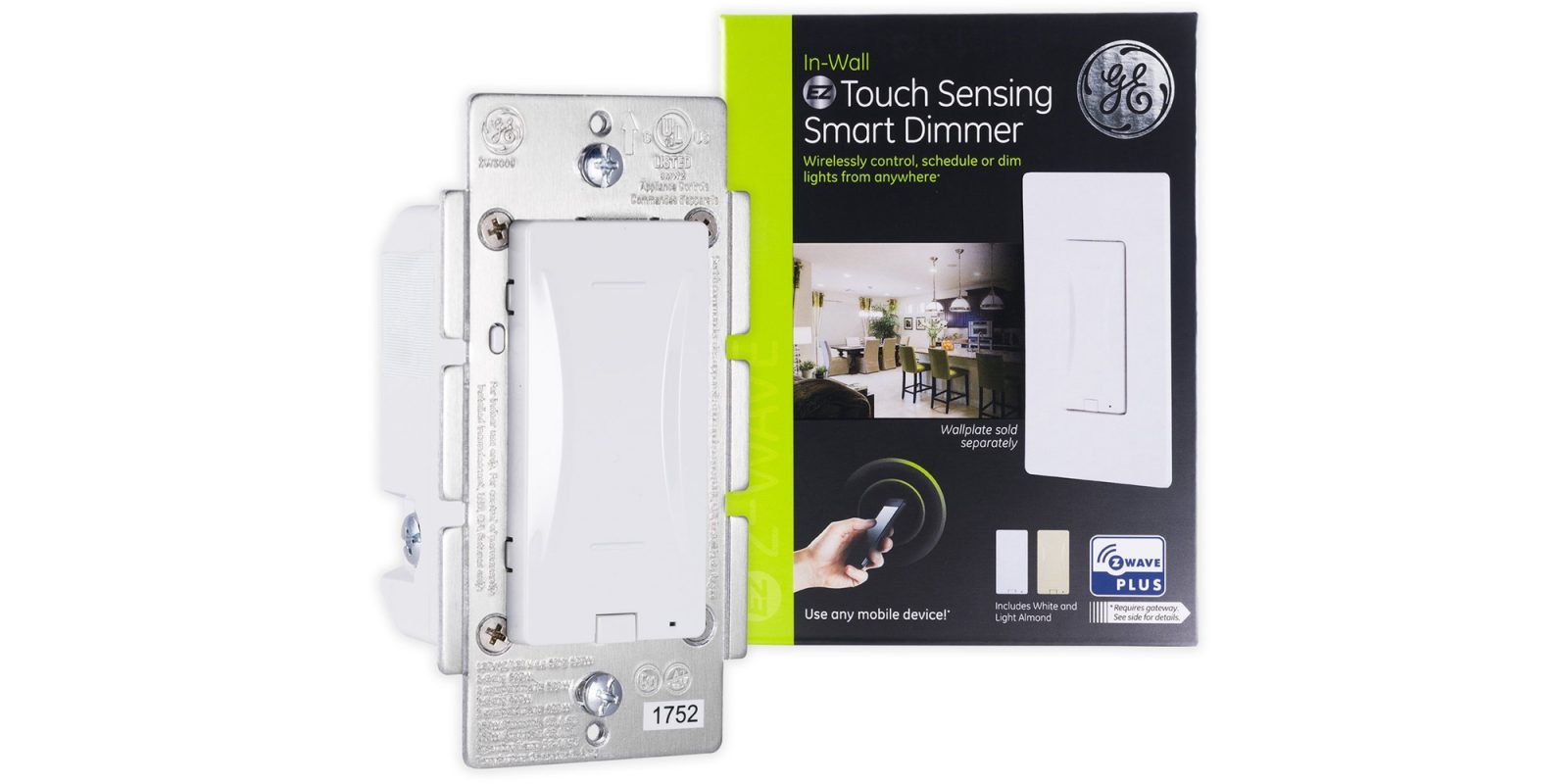 GE's Z-Wave Touch 3-Way Dimmer Switch hits new Amazon low at $46.50 (22% off)
