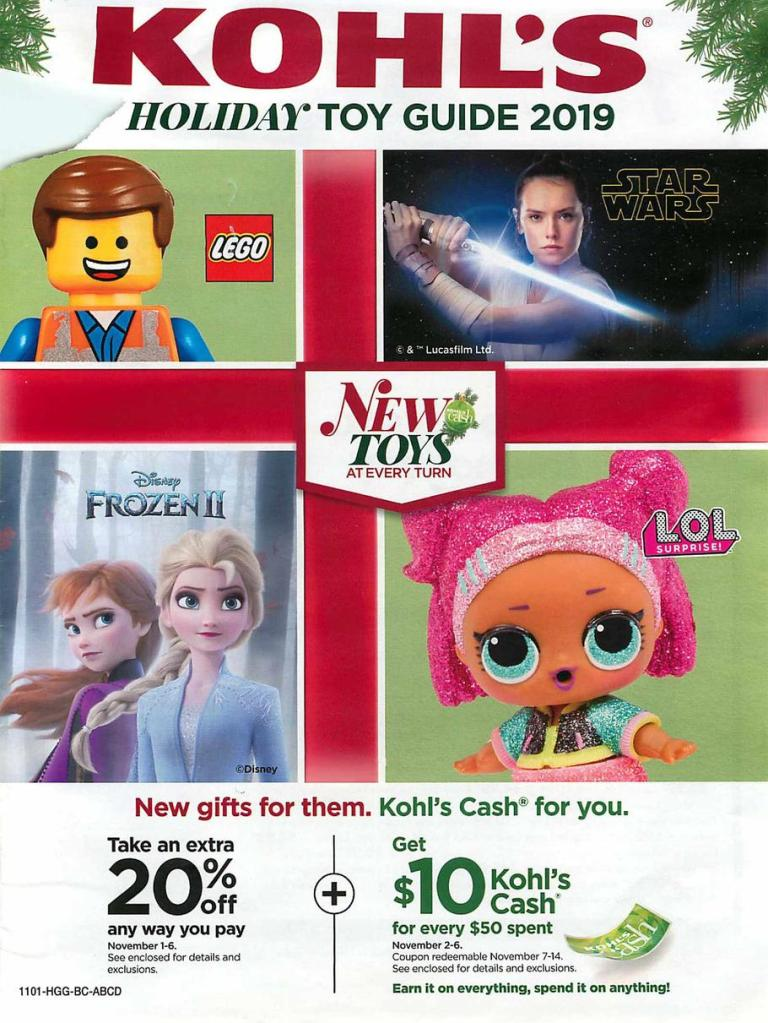 Kohl's 2019 Toy Book -01