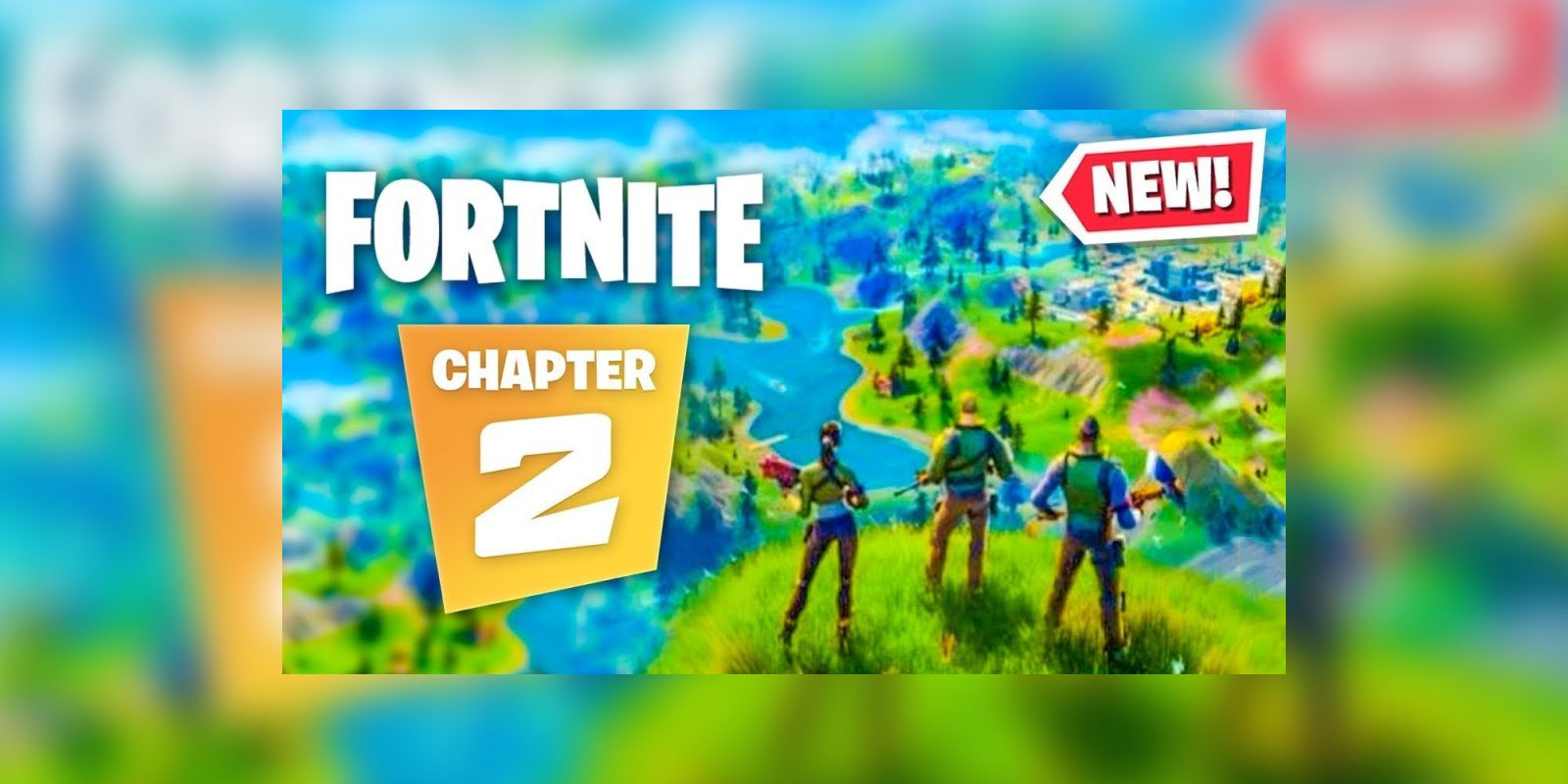 Leaked Fortnite Chapter 2 Trailer Shows New Map And More