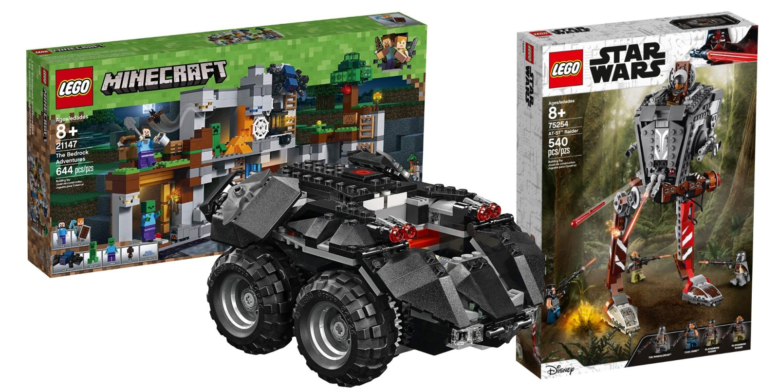 Save on LEGO's App-enabled Batmobile at $76.50 + Star Wars and more from $12