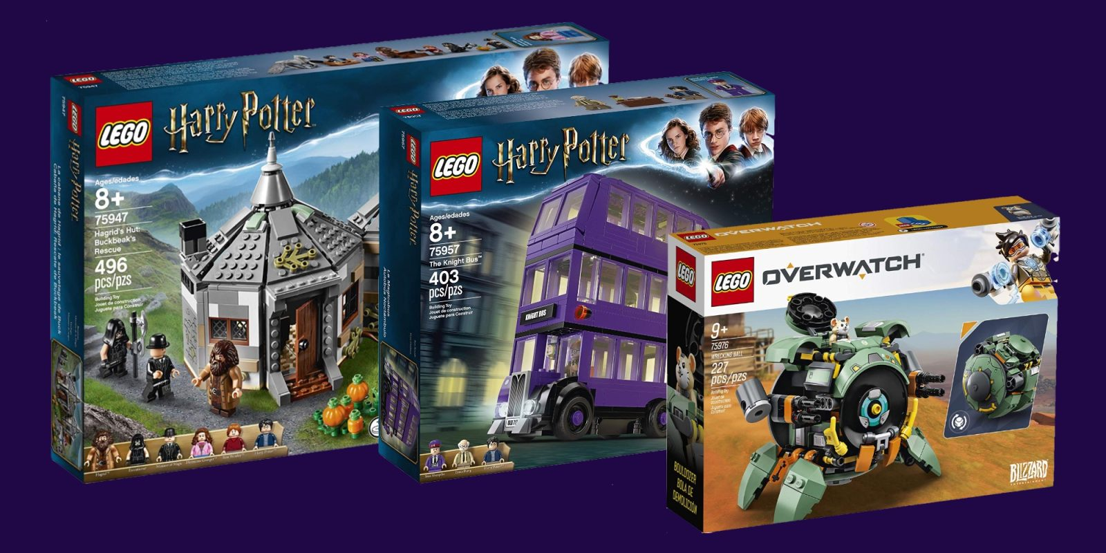 LEGO's latest Harry Potter kits are 20% off + Creator, Overwatch, more from $7