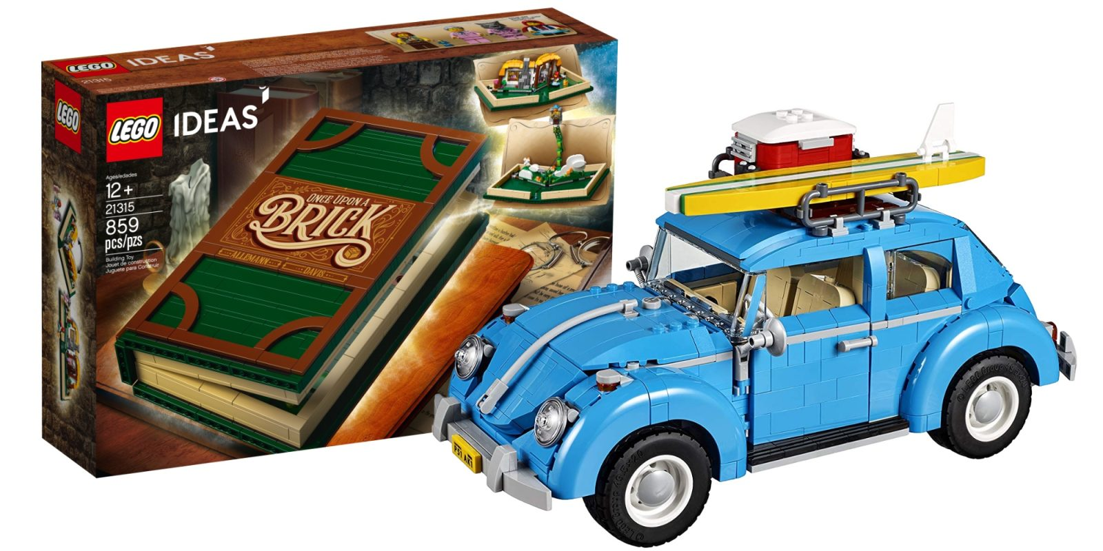 Score Amazon lows on the LEGO Ideas Pop-Up Book at $43 + Volkswagen Beetle $70