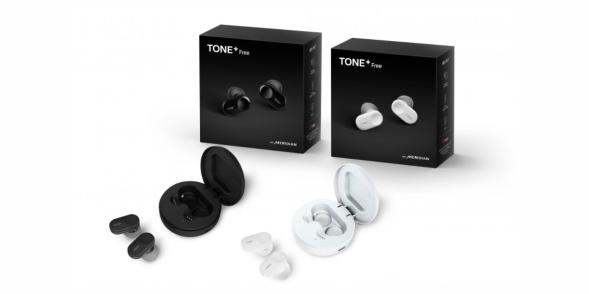 LG Tone+ Free in both colors