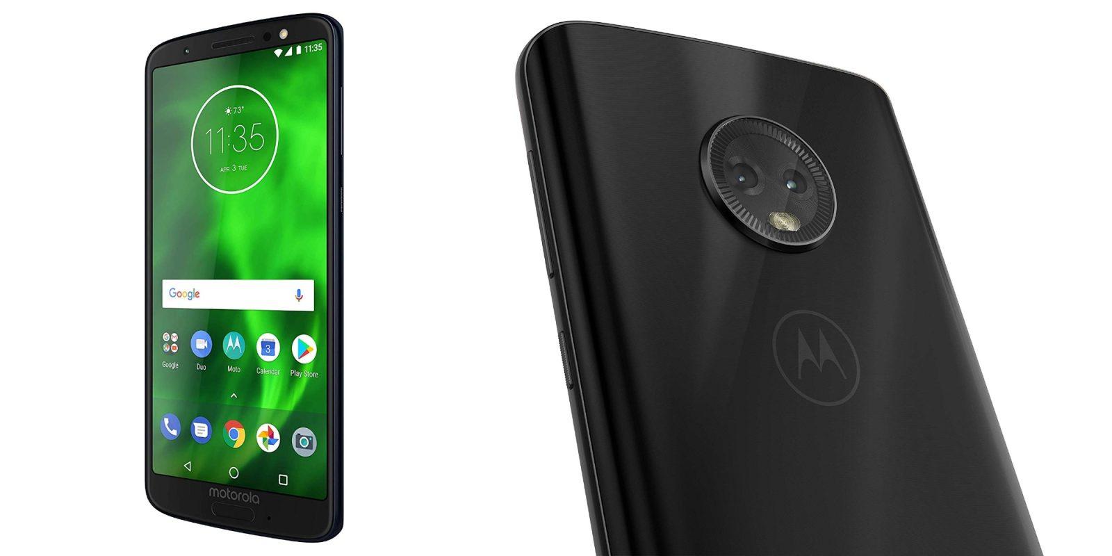 Motorola's Moto G6 Smartphone drops to new Amazon low at $161 (30% off)