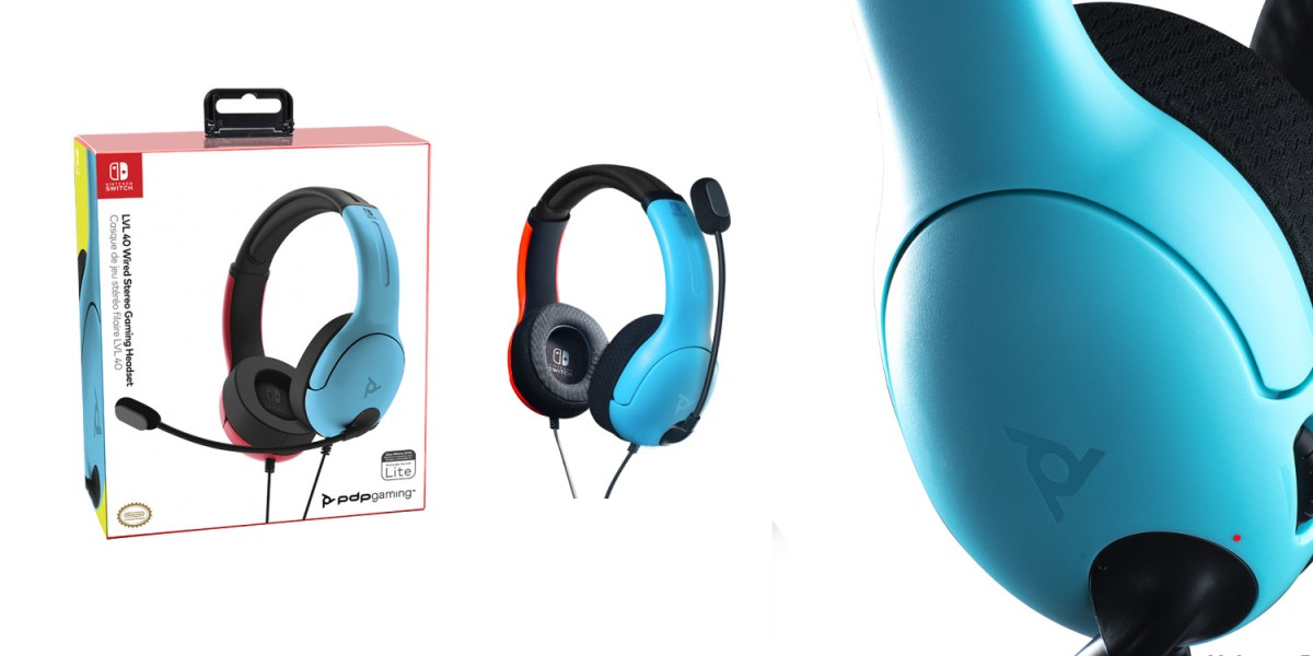 New PDP Nintendo Switch Headset