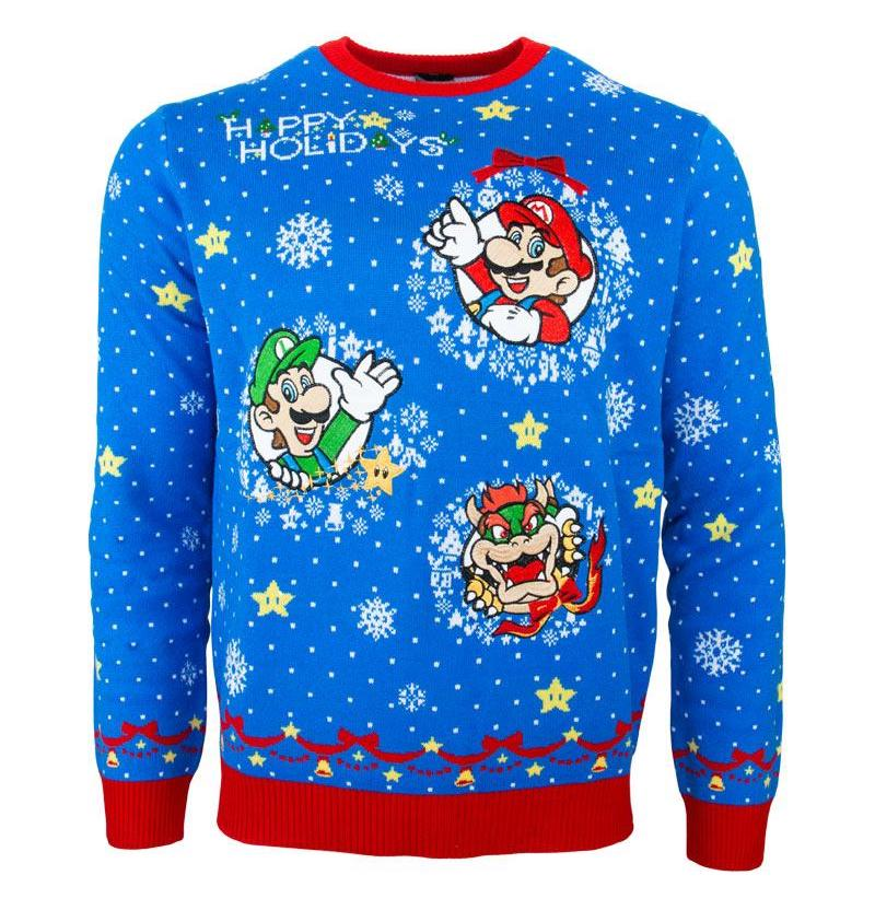 Nintendo Christmas sweaters are here