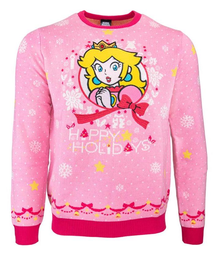 Nintendo Christmas sweater - Peach