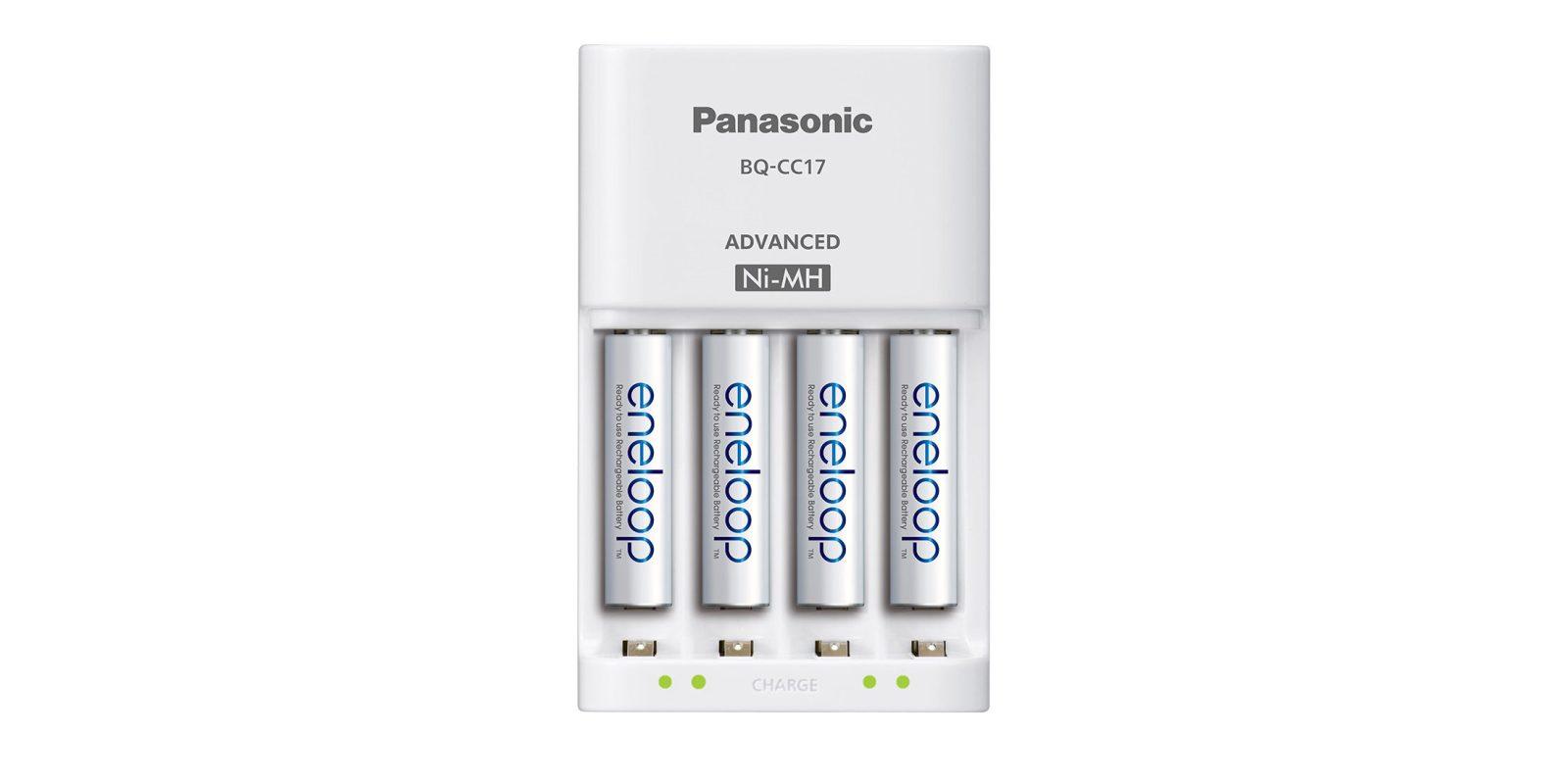 Amazon offers Panasonic eneloop AAA rechargeable batteries for $18