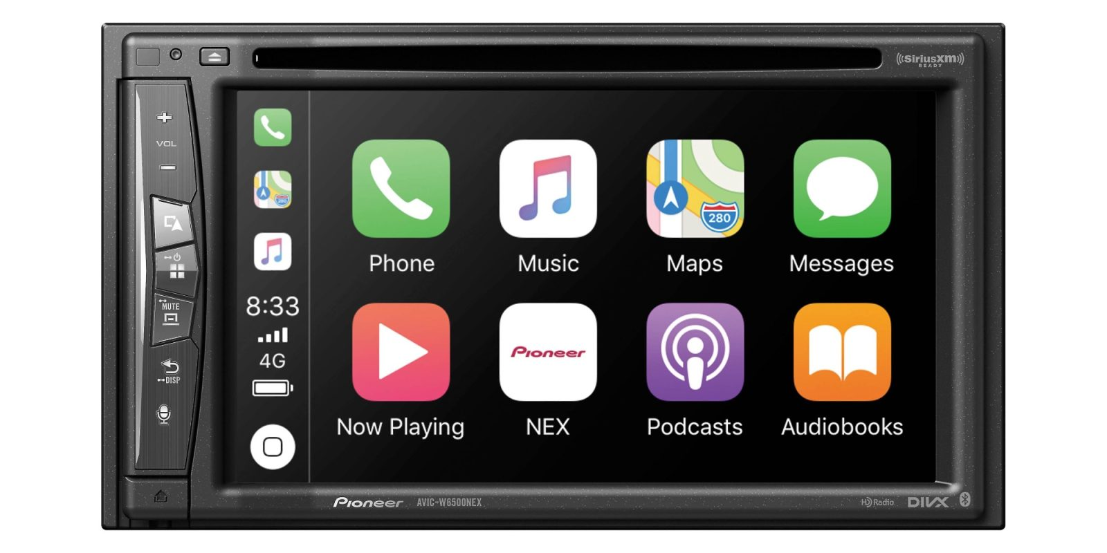 Save $248 on Pioneer's 6.2-inch Wireless CarPlay Receiver at a new Amazon low