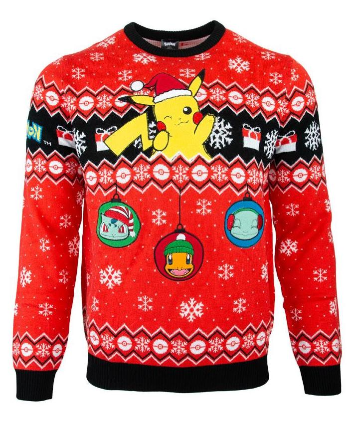 2019 Nintendo Christmas sweaters unveiled