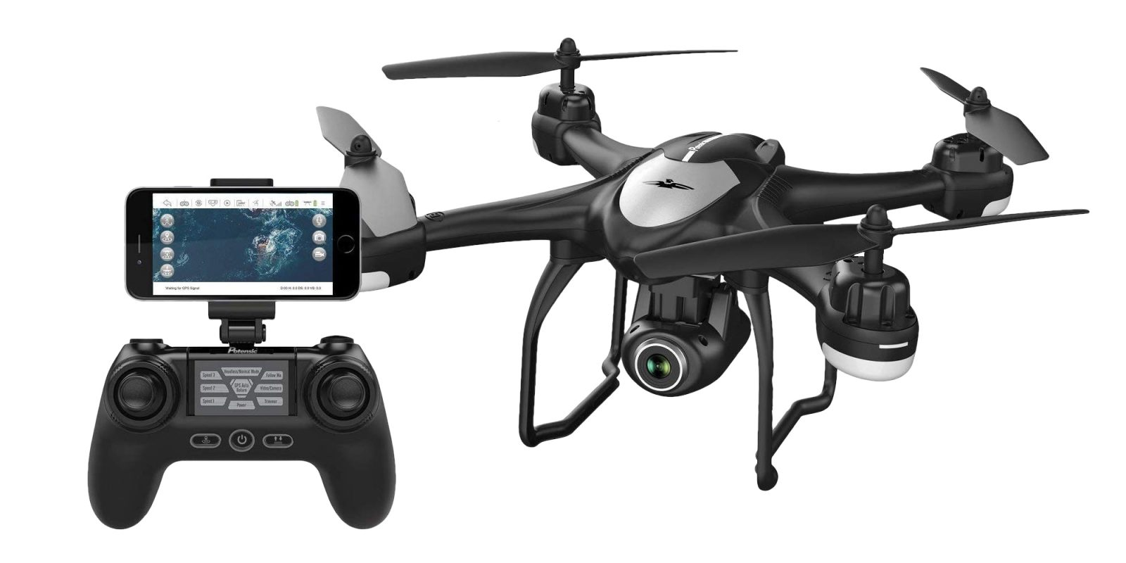 Pilot Potensic's GPS-enabled Quadcopter with 1080p cameras for $71 (50% off)