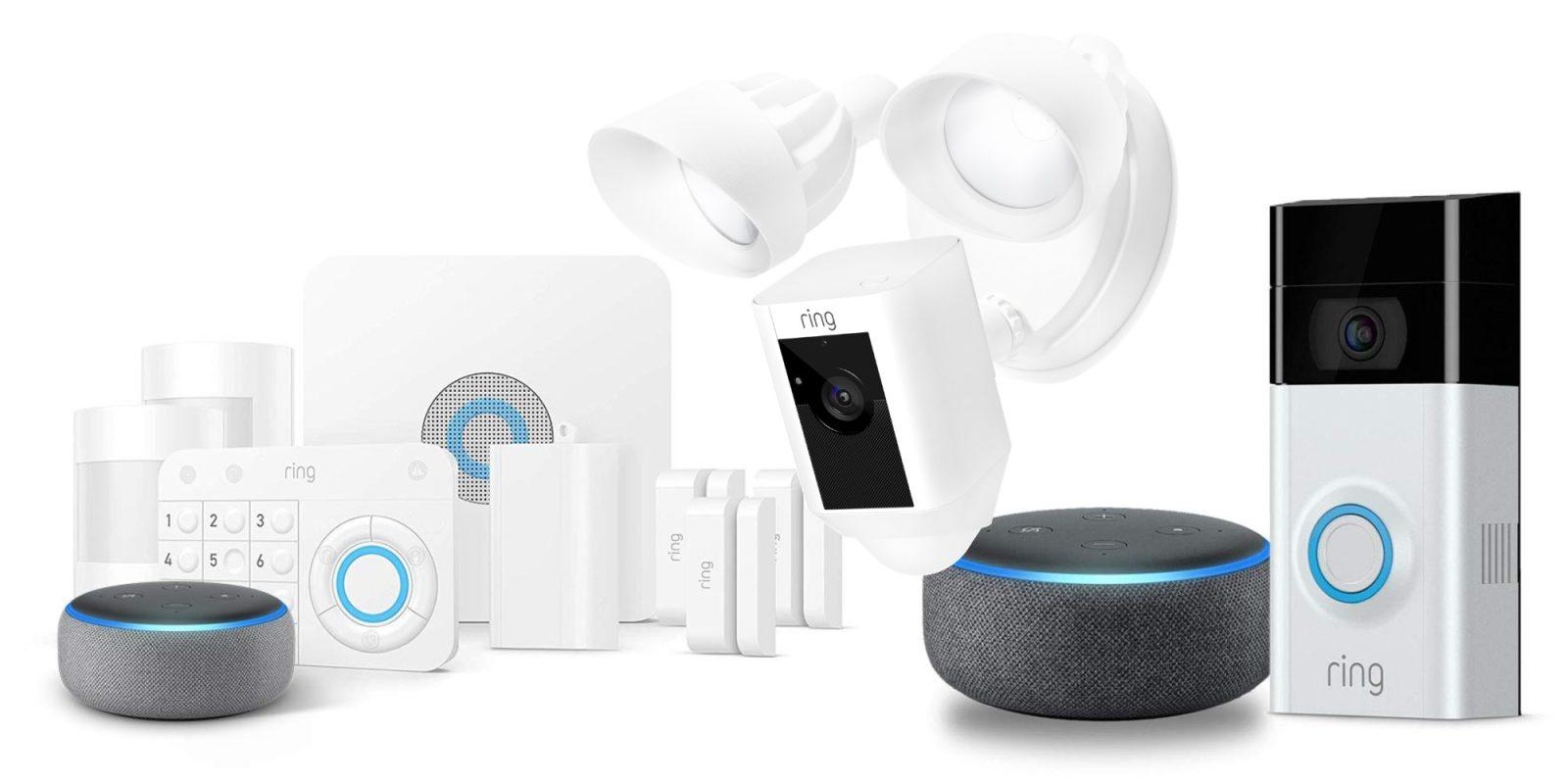 Amazon bundles free Echo Dot w/ discounted Ring Doorbells, Alarm systems, more